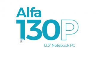 alfa-130P-nootbook