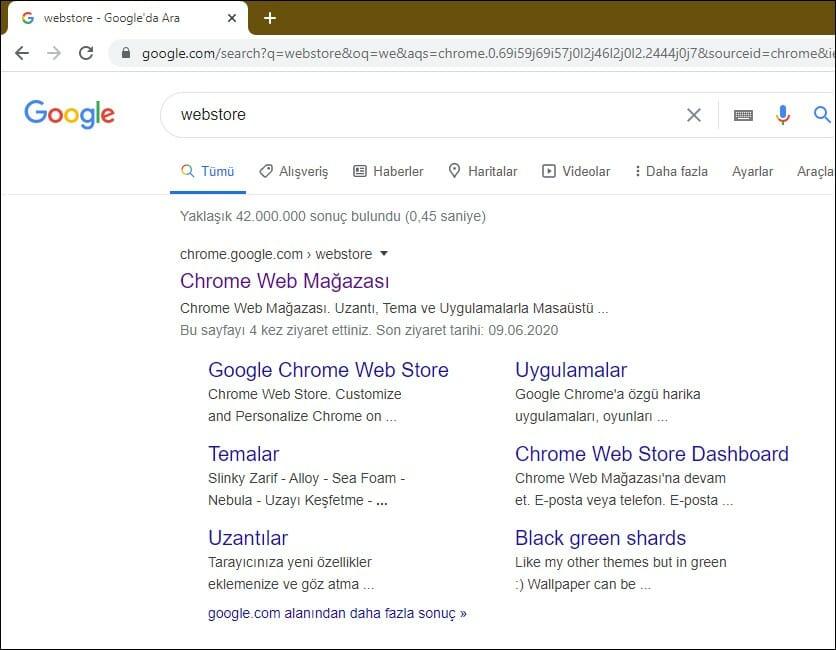 Google Chrome için Karanlık Modu Etkinleştirme