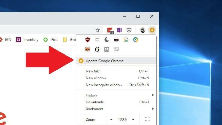 Yavaş Tarayıcı? Chrome'u Nasıl Hızlandırırsınız? 2 – Chromeun En Son Sürümüne Güncelleme