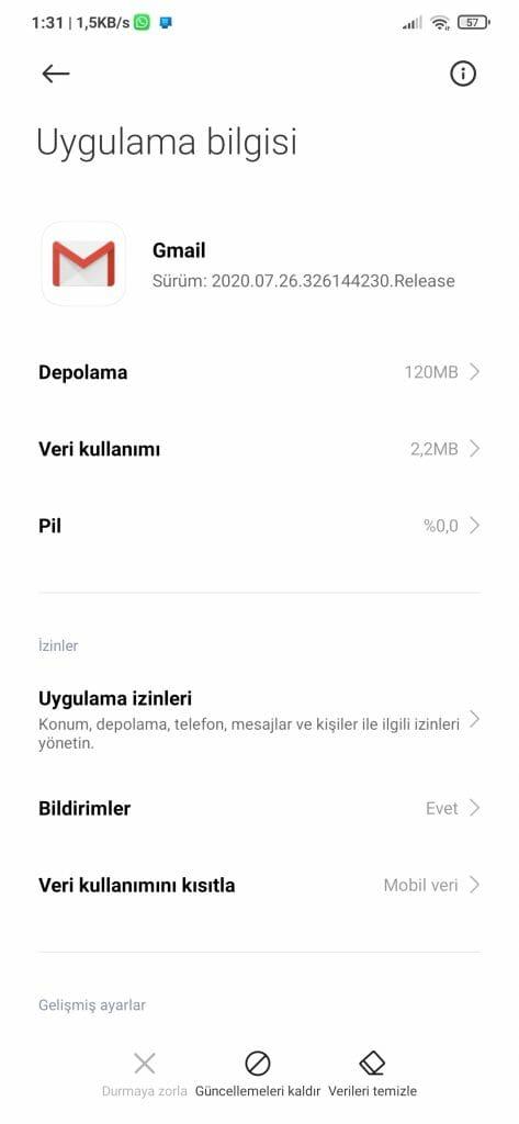 Android'de E-posta Senkronizasyonu Durduruldu mu? Düzeltmenin 8 Yolu 5 – Screenshot 2020 08 25 01 31 42 756 com.miui .securitycenter