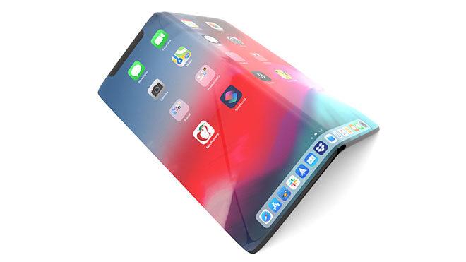 Apple Samsung katlanabilir iPhone