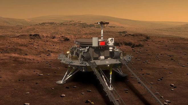 Çin uzay aracı Mars Tianwen-1,
