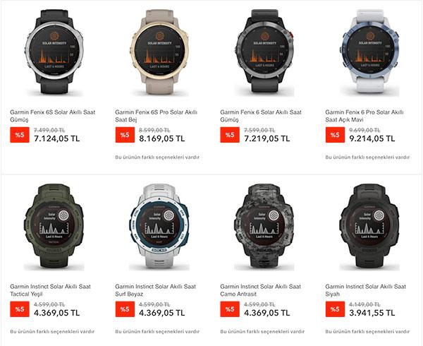 Garmin'in güneş enerjili yeni akıllı saat modelleri Türkiye'de satışta 10 – ekran resmi 2020 09 04 10 1 1