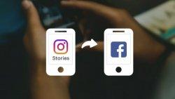 hikayeleri Facebook'ta da görünmeye başladı