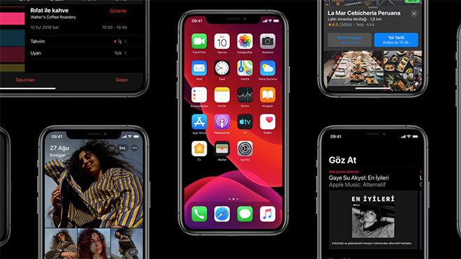 iOS 13.7 ve iPadOS 13.7
