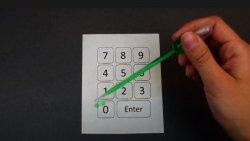 Araştırmacılar, normal kağıdı bilgisayar klavyesine dönüştürdü