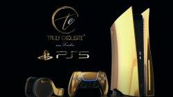 Altın kaplama PlayStation 5'in ön sipariş fiyatı açıklandı