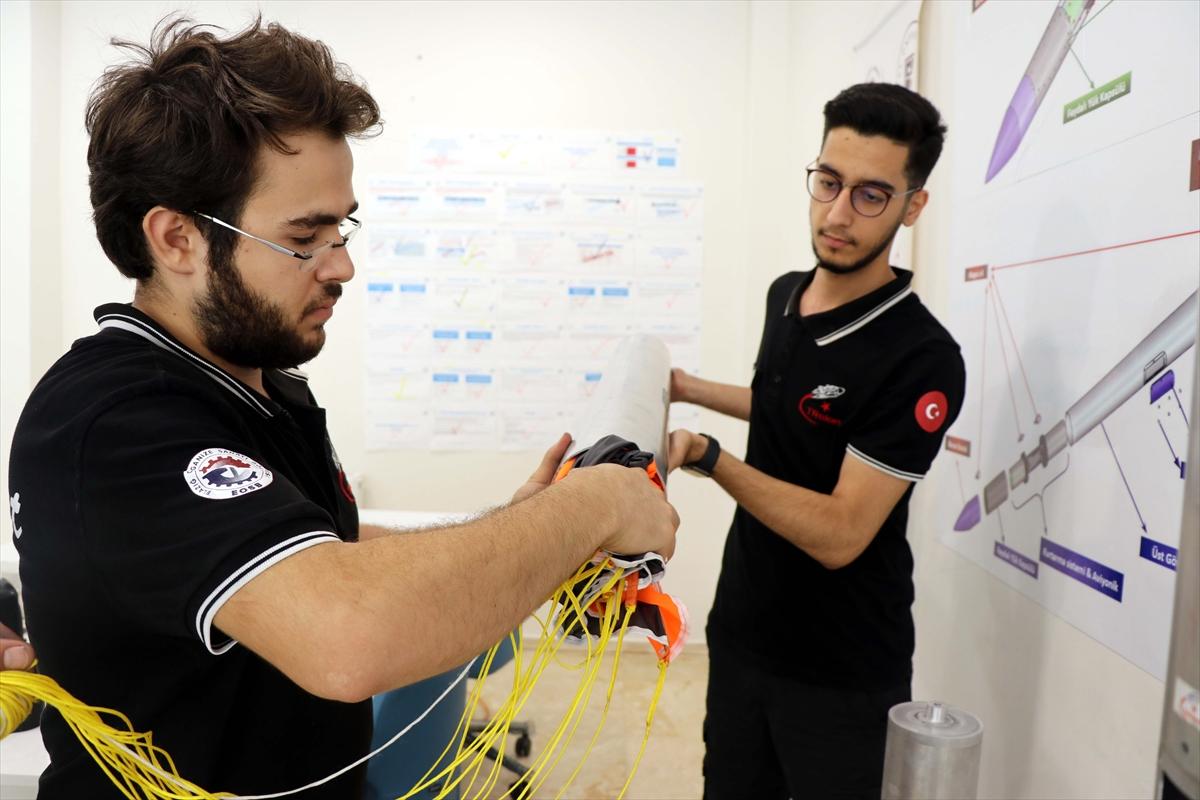 Genç yetenekler, tasarladıkları roketlerle TEKNOFEST te yarışacaklar #5