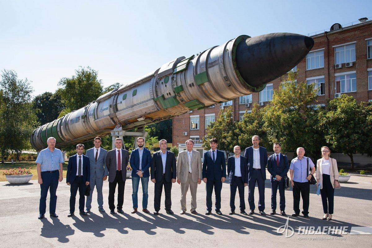 Türkiye Uzay Ajansı ile Ukrayna arasında iş birliği hamlesi #5