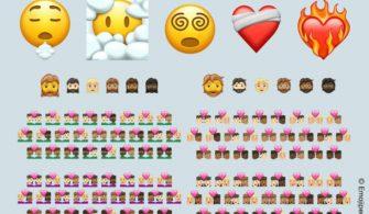 Emojilere küçük bir güncelleme geldi