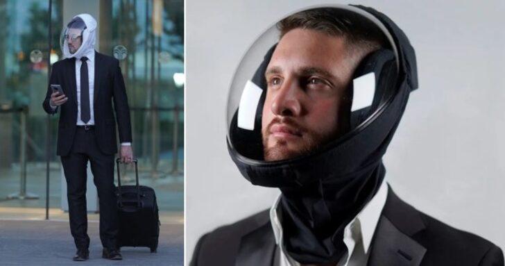 Maskeleri rahatsız mı buluyorsunuz? Uzay kasklarını deneyin