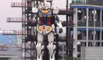 Dev robot Gundam gösteri yaptı