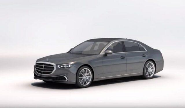 Yeni Mercedes S Serisi