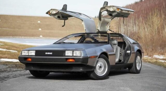 DeLorean DMC-12  Dünyanın en ilginç araba tasarımları