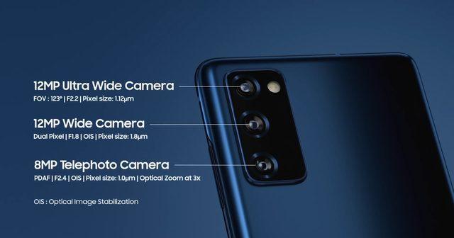 Galaxy S20 FE kamera