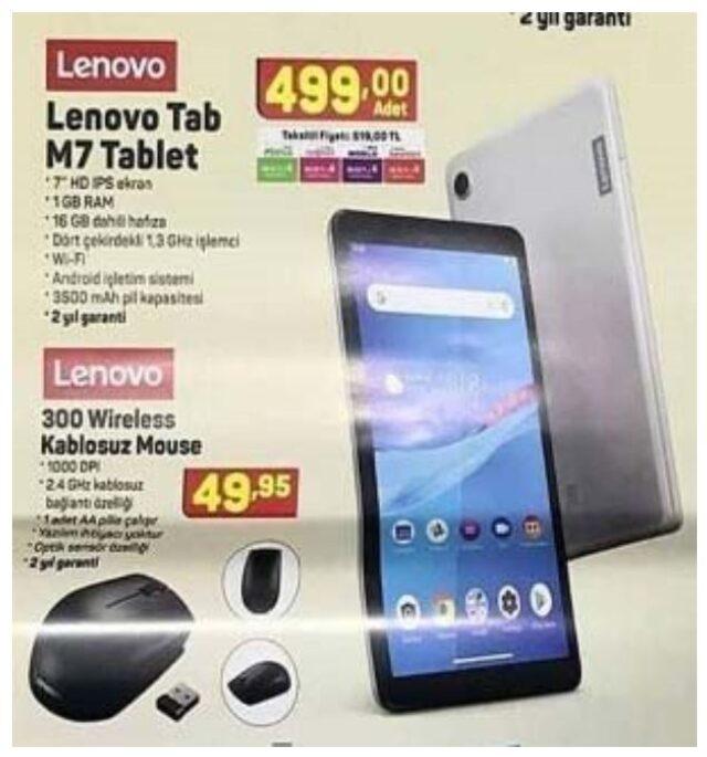 bim tablet kampanyası