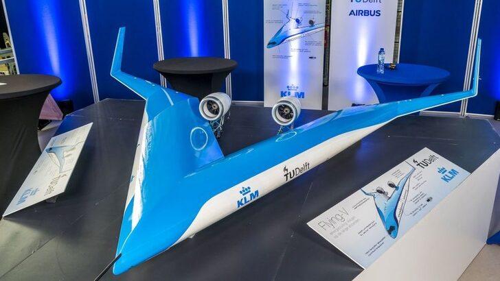 Yakıt tasarruflu V uçak ilk deneme uçuşunu başarıyla tamamladı