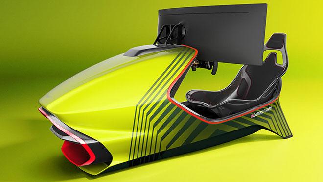 Aston Martin yarış simülatörü