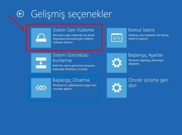 Windows 10 da Sistem Geri Yükleme Çalışmıyor Sorunu Düzeltme 12 – windows 10 sistem geri yukleme