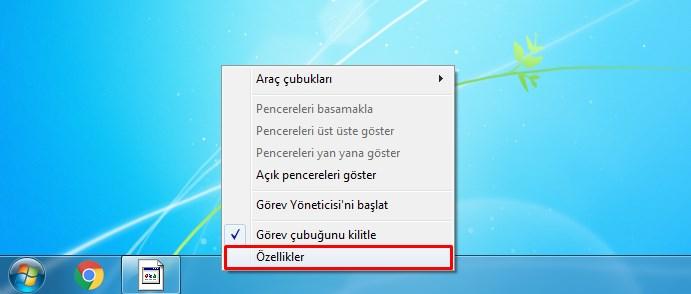 Windows Görev Çubuğu Gizleme 1 – gorev cubugu 1