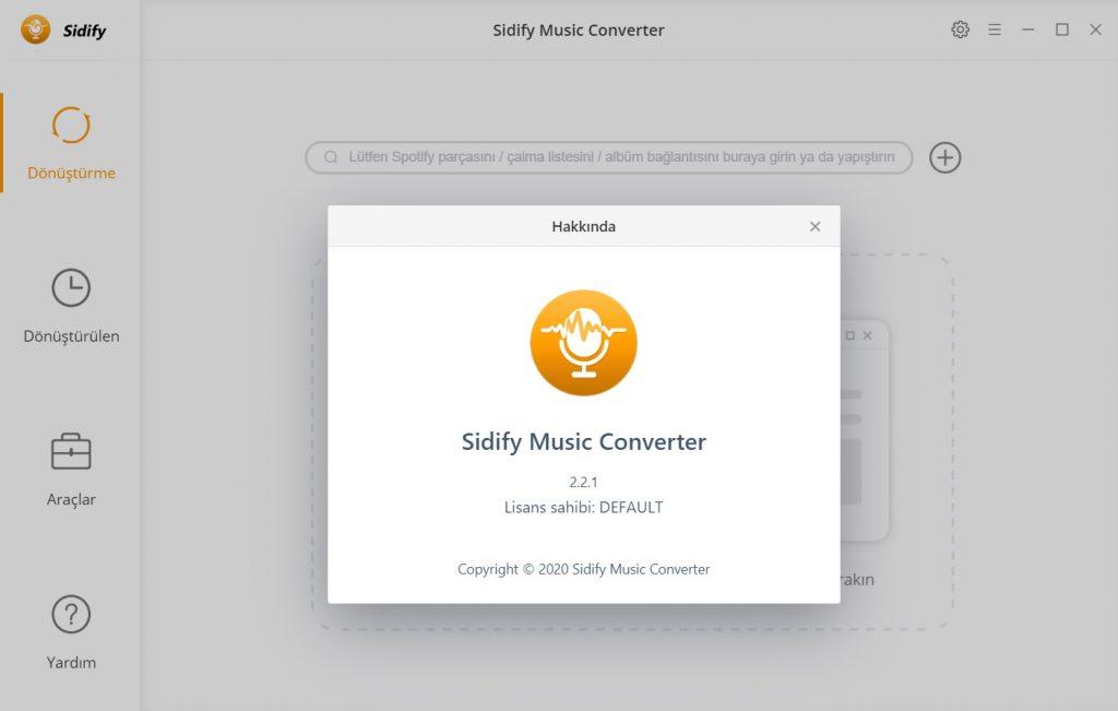 Sidify Music Converter ile Spotify da Müzik İndirme
